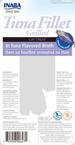 Grilled Tuna in Tuna Broth