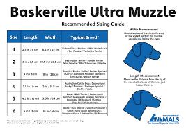 Baskerville Ultra Muzzle Size