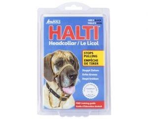 large HALTI HEAD COLLAR BLK SZ 5