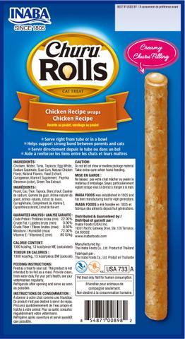 Churu Rolls Chicken
