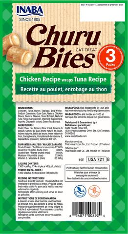 Churu Bites Tuna back