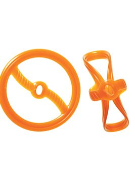 The Bionic 2 in 1 Toss N Tug Ring is the ultimate dog toy