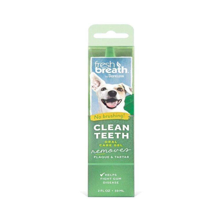 TropiClean Fresh Breath Peanut Butter Flavored Oral Care Gel