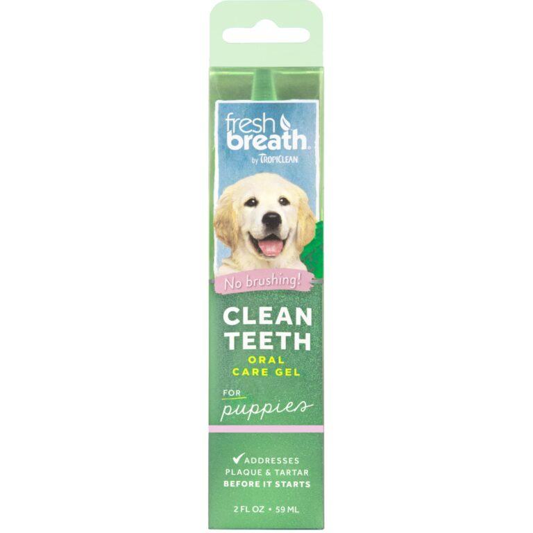 TropiClean Fresh Breath Oral Care Gel PUPPYS