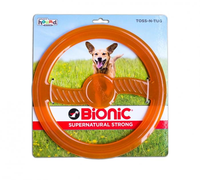 bionic toss n tug orange פטשופסל